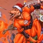 HQs: Larfleeze Christmas Special, Nemesis e Quarteto Fantástico