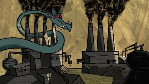Let's pollute: é um filme sujo sobre poluição (e sujeira).