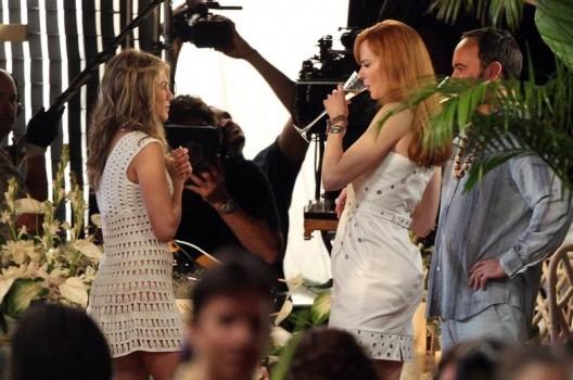 Sim: Aniston, Kidman e Dave FUCKING Matthews. Juntos.