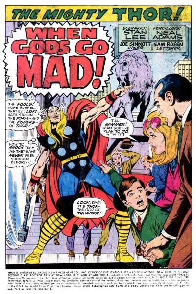 O Thor de Neal Adams