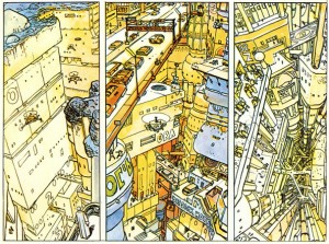 O futuro vertical de Moebius