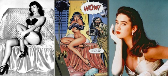 Duas Bettys e uma Jenny: a inspiradora e suas personagens