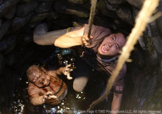 Glenn camarada, ajudando Sammy a sair do fundo do poço.