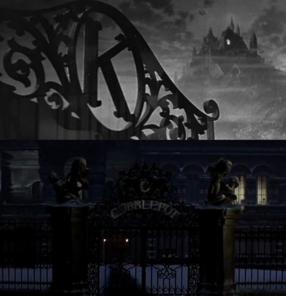 Um K em Cidadão Kane e um C em Batman