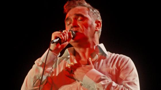 Um tantão de Morrissey...